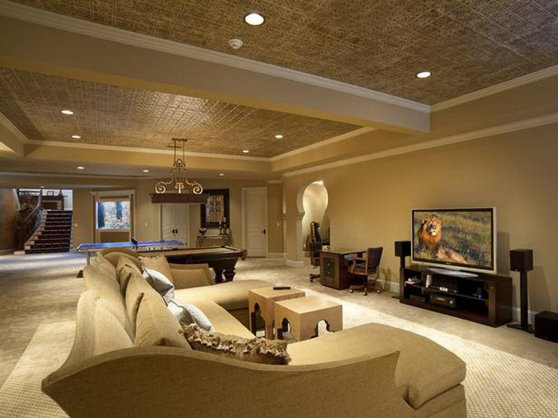 Best ideas about Finishing Basement Ideas Cheap . Save or Pin Cheap Basement Finishing Ideas 3 Options for You Now.