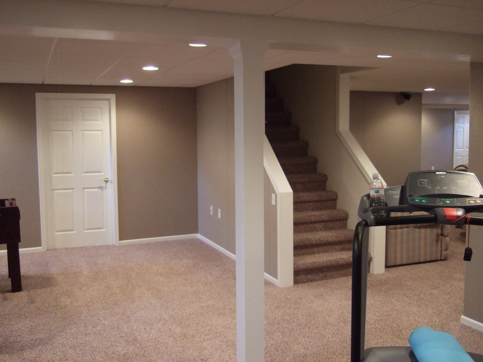 Best ideas about Finishing Basement Ideas Cheap . Save or Pin Finished Basement Ideas A Bud Home Design Bud Now.