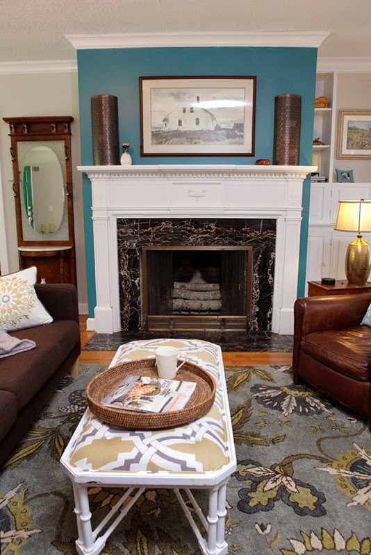 Best ideas about Fireplace Accent Walls . Save or Pin Birds A Feather Big Bang for the Buck Now.
