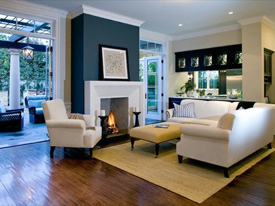 Best ideas about Fireplace Accent Walls . Save or Pin fireplace color Now.