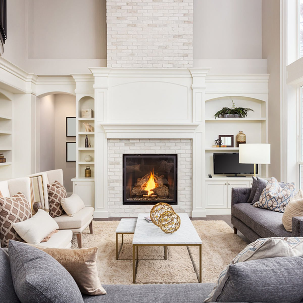 Best ideas about Fireplace Accent Walls . Save or Pin 15 Stunning Accent Wall Ideas You Can Do Now.