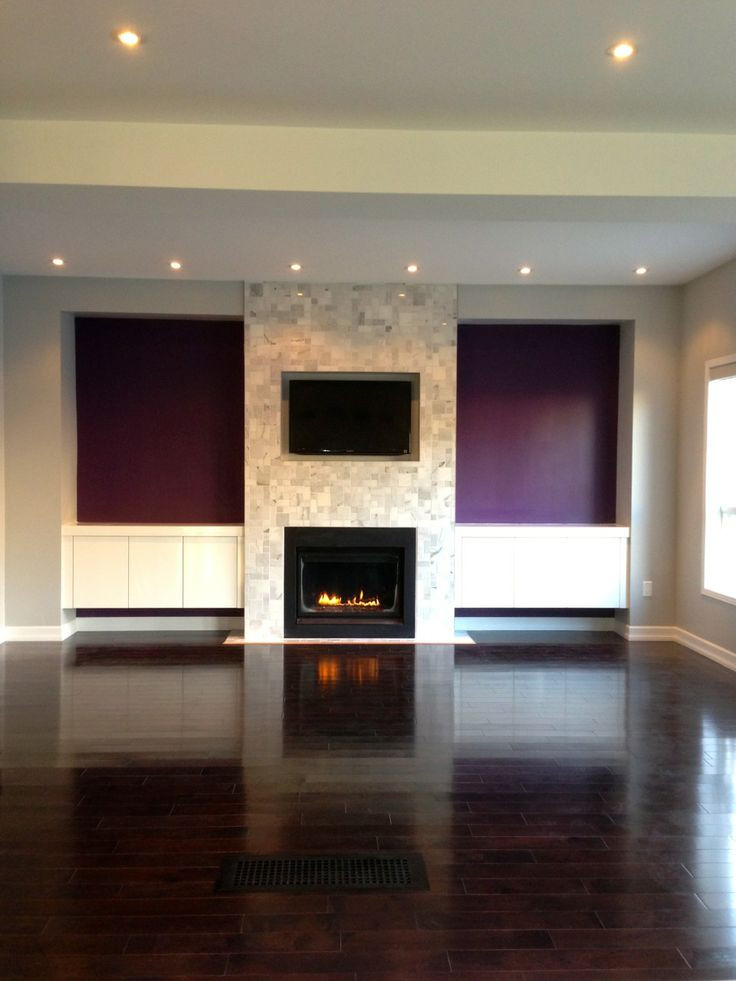 Best ideas about Fireplace Accent Walls . Save or Pin fireplace with accent walls home Now.