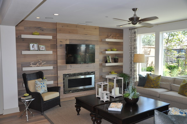 Best ideas about Fireplace Accent Walls . Save or Pin Accent Wall Fireplace Entertainment Center bo Now.