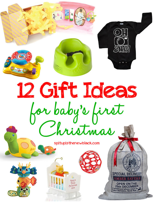 First Baby Gift Ideas  12 Gift Ideas for Baby s First Christmas Spit Up is the
