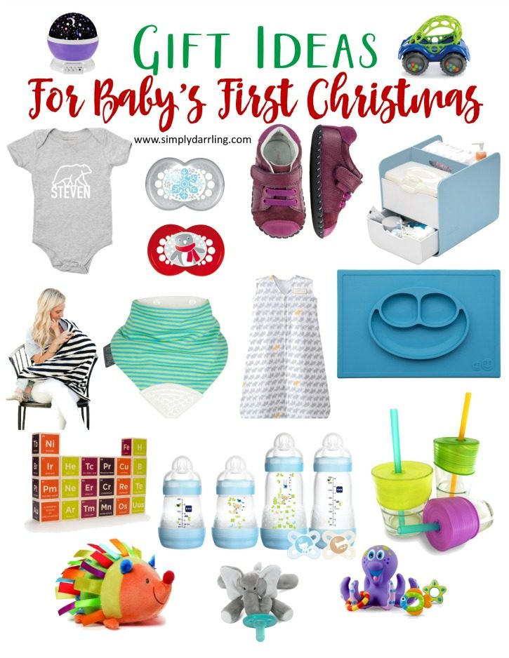 First Baby Gift Ideas  Super Holiday Gift Guide Baby s First Christmas Simply