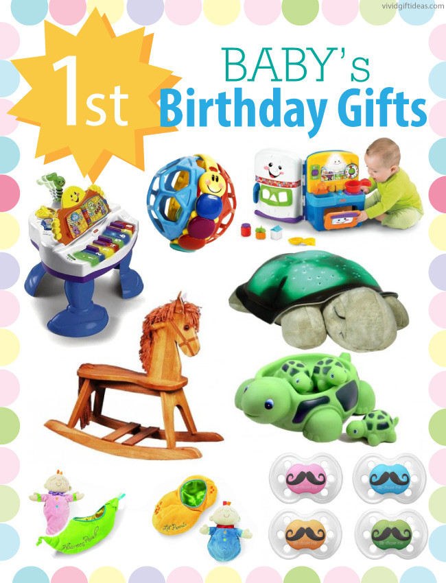 First Baby Gift Ideas  1st Birthday Gift Ideas For Boys and Girls Vivid s Gift