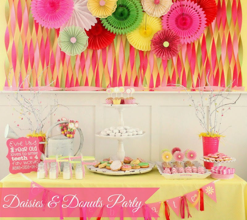 Best ideas about First Birthday Party Themes . Save or Pin 34 Creative Girl First Birthday Party Themes & Ideas My Now.