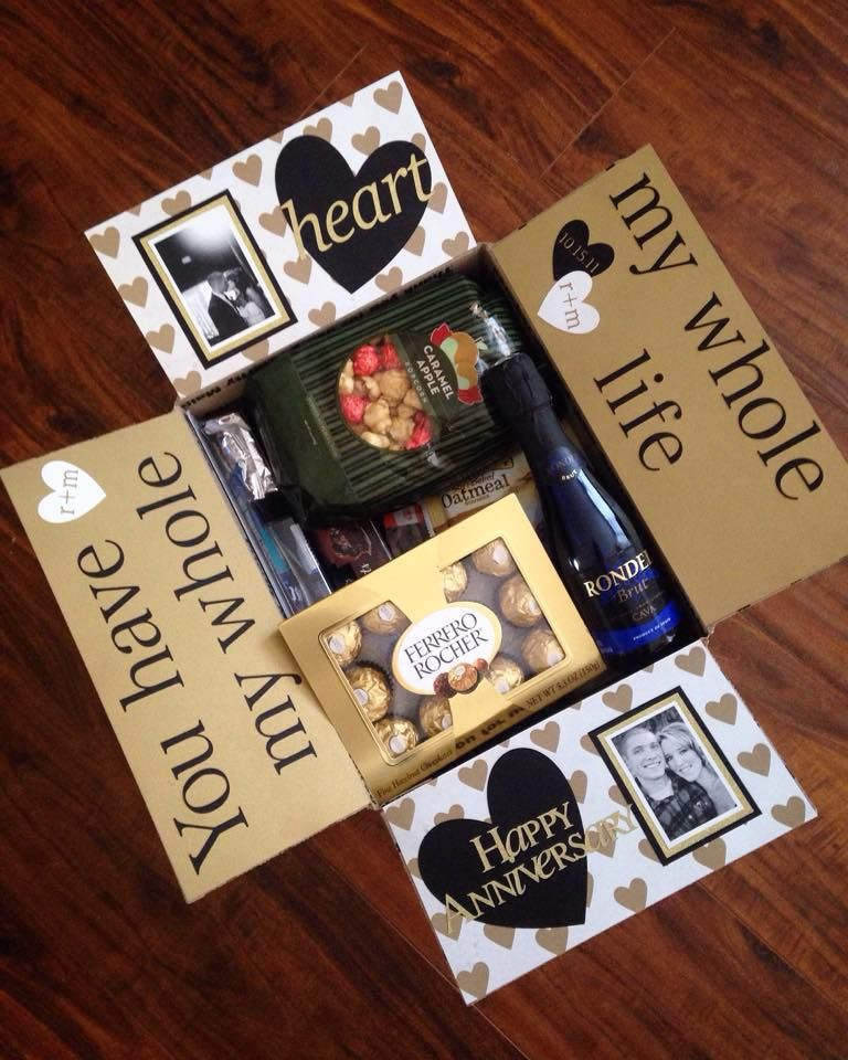 First Christmas With Boyfriend Gift Ideas  Anniversary Care Package …