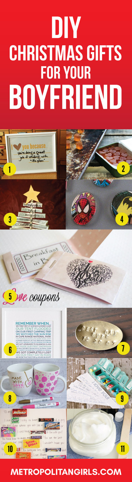 First Christmas With Boyfriend Gift Ideas  Christmas Gift Ideas for Boyfriend 2017 Metropolitan Girls
