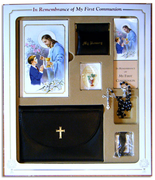 First Communion Gift Ideas For Boys  Boys First munion Gift Set