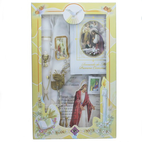 First Communion Gift Ideas For Boys  First munion Gift Set For Boys Spanish Version