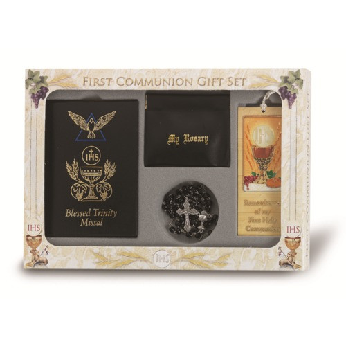 First Communion Gift Ideas For Boys  First munion Blessed Trinity Gift Set For Boys