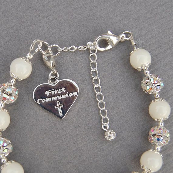 First Communion Gift Ideas For Girls  First munion Gift Baptism Gift Girls First by
