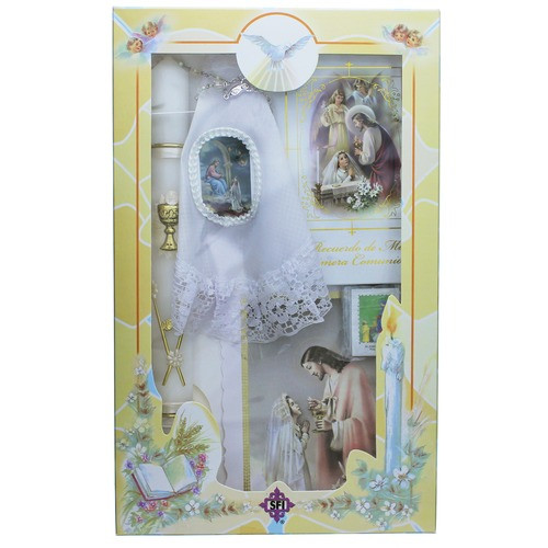 First Communion Gift Ideas For Girls  First munion Gift Set for Girls Spanish
