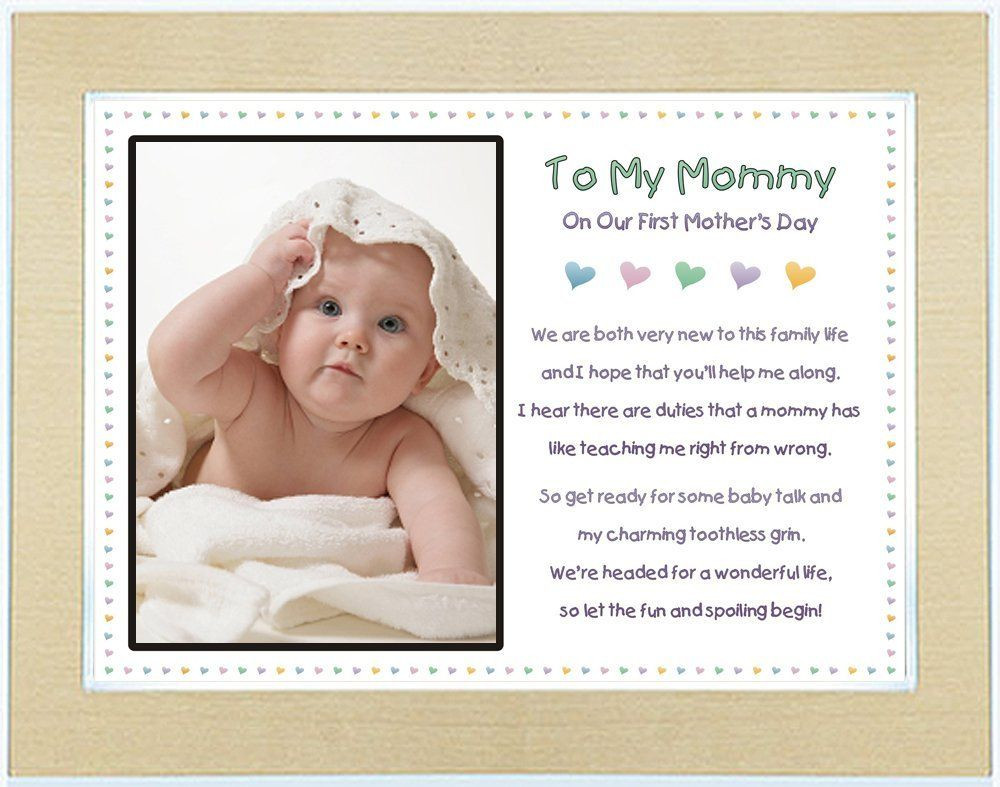 Best ideas about First Father'S Day Gift Ideas From Baby . Save or Pin The Best First Mother's Day Gifts — Kathln To My Mommy Now.