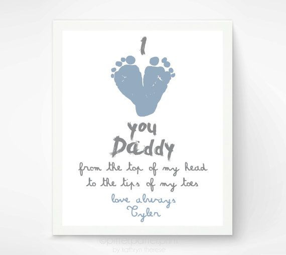 Best ideas about First Father'S Day Gift Ideas From Baby . Save or Pin Personalized Father s Day Gift for New Dad I Love You Now.