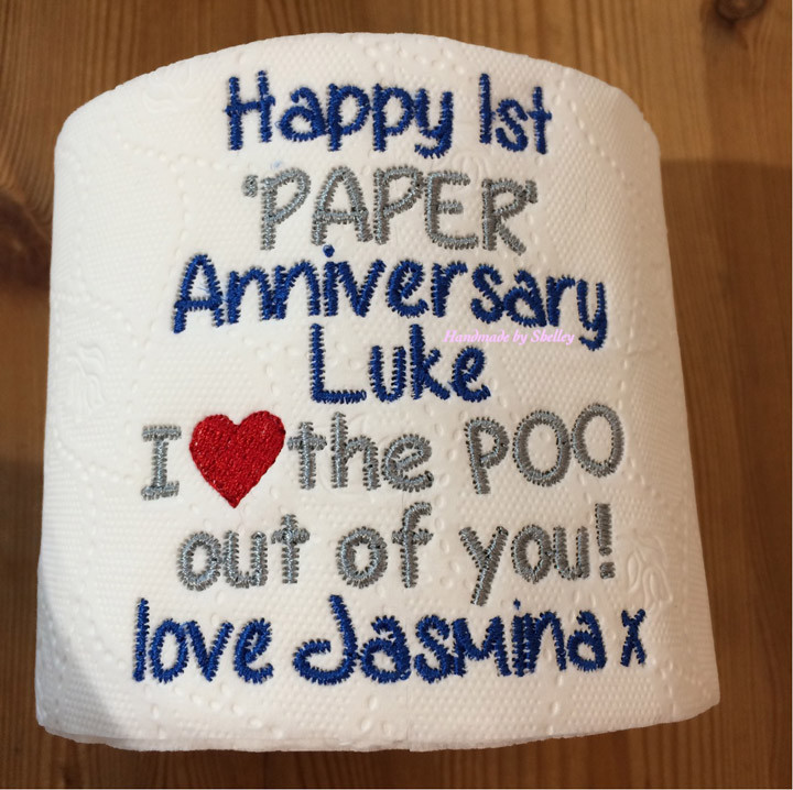 Best ideas about First Wedding Anniversary Gift Ideas . Save or Pin First Wedding Anniversary Gift Ideas Paper Now.