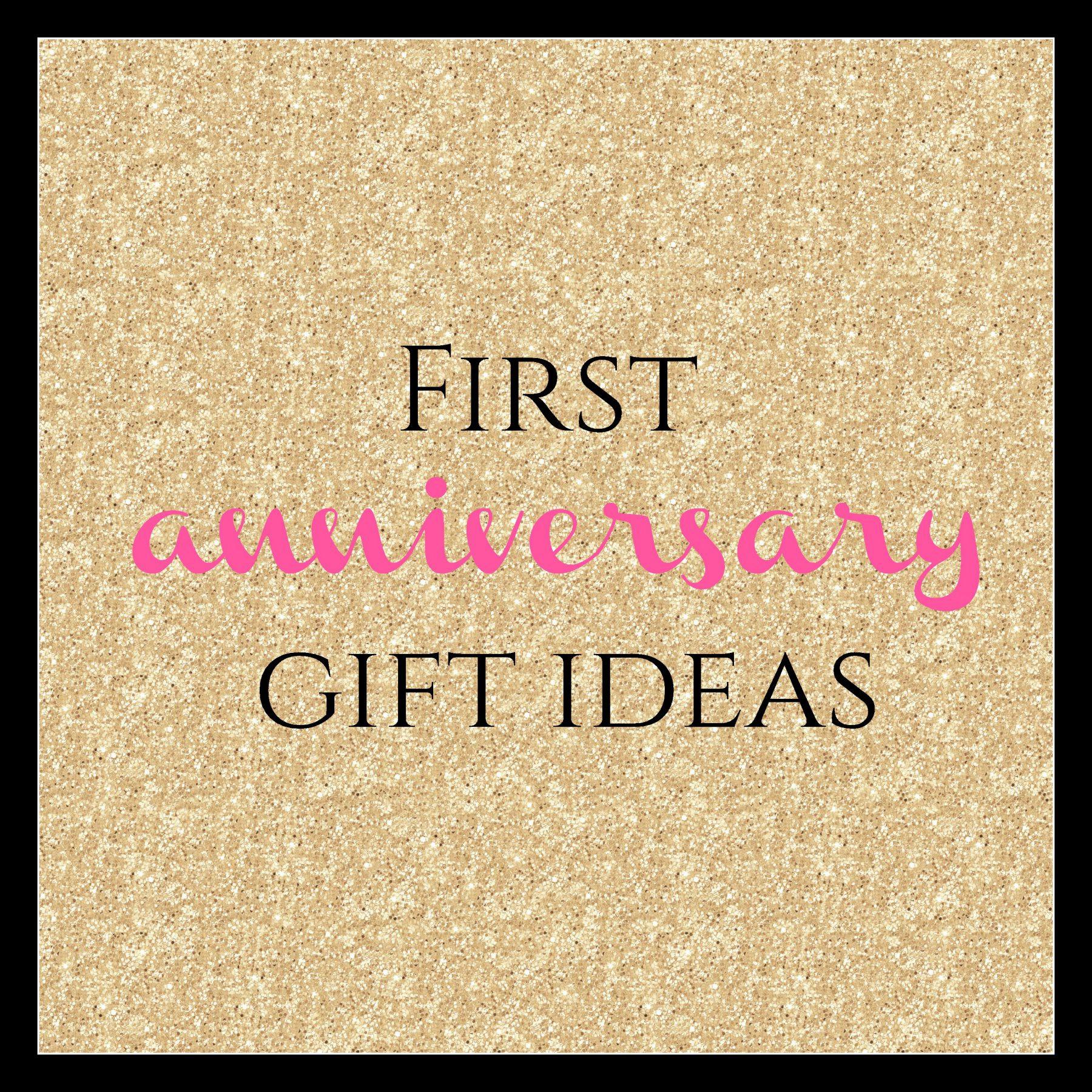 Best ideas about First Wedding Anniversary Gift Ideas . Save or Pin First Anniversary Gift Ideas Burgh Brides Now.