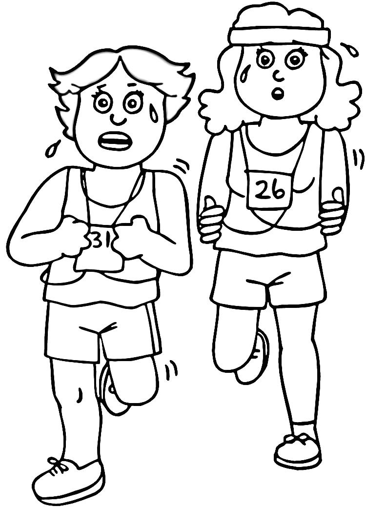 Fitness Coloring Pages For Kids  10 printable pictures of fitness page Print Color Craft