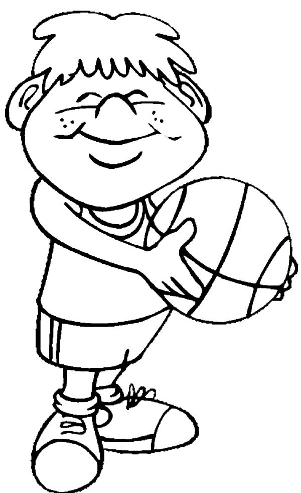 Fitness Coloring Pages For Kids  People Exercising Free Colouring Pages