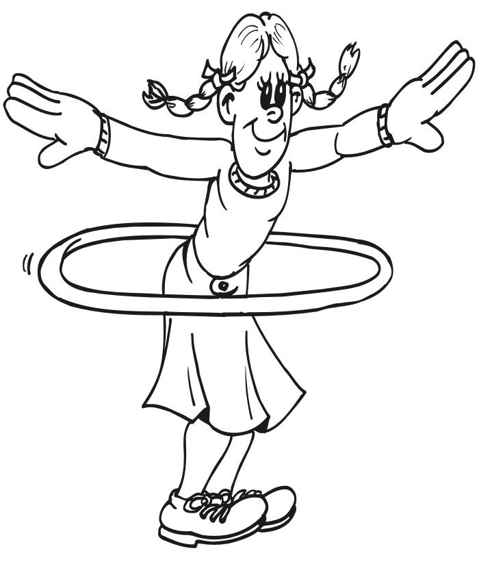 Fitness Coloring Pages For Kids  17 Best images about Coloring page on Pinterest