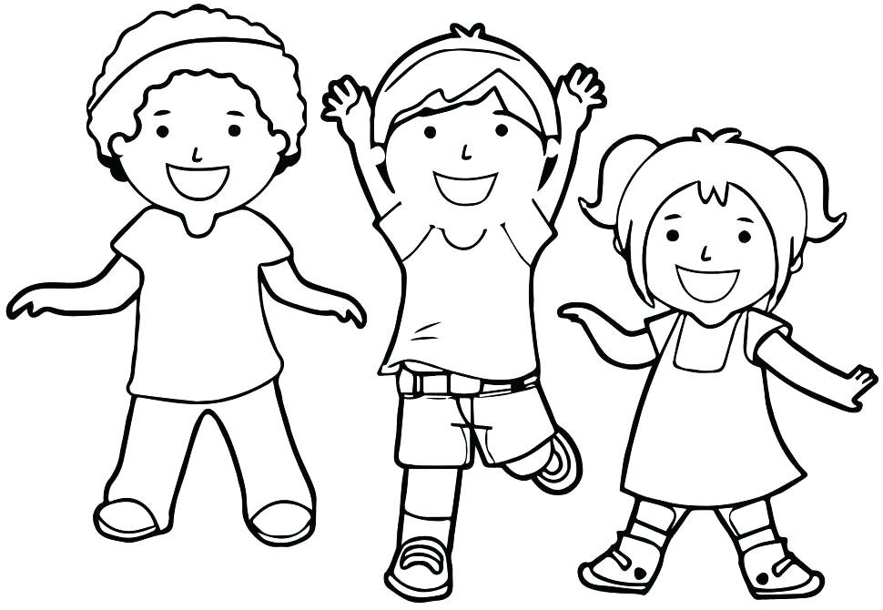 Fitness Coloring Pages For Kids  Physical Fitness Coloring Sheets Pages Engaging Children