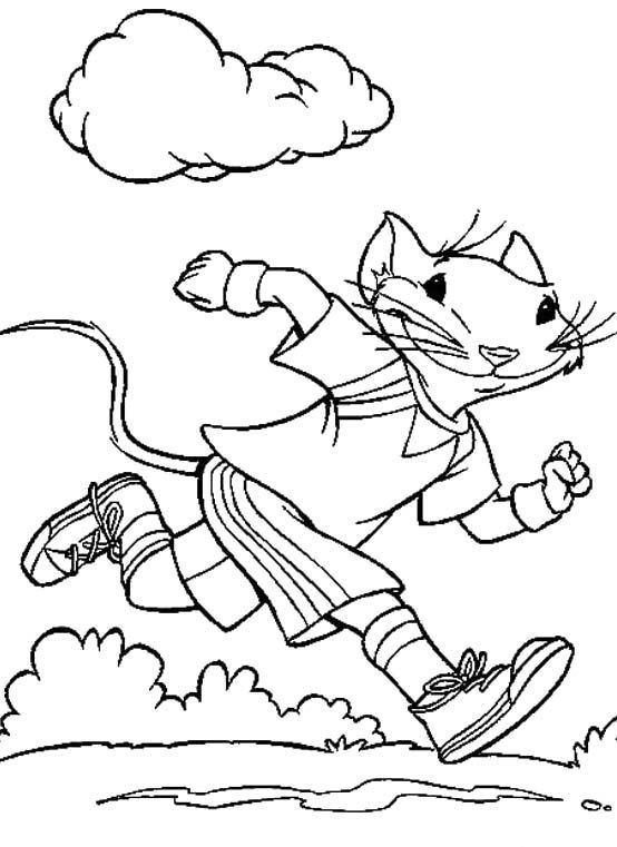 Fitness Coloring Pages For Kids  Pinterest • The world's catalog of ideas