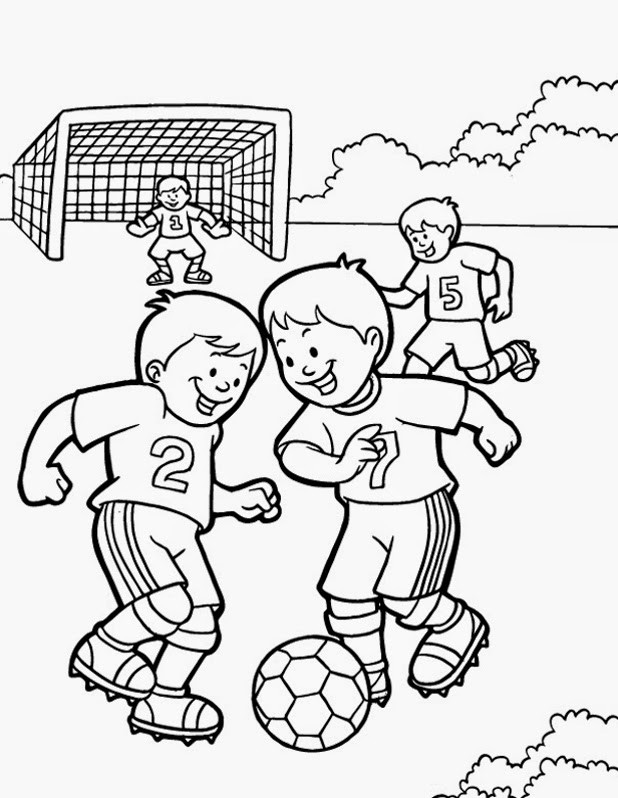 Fitness Coloring Pages For Kids  Free Physical Education Coloring Pages