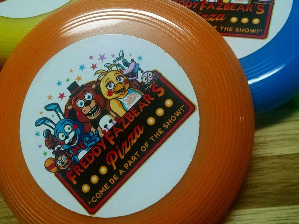 Five Nights At Freddy's Birthday Party  12ct Five Nights at Freddy s 5 mini frisbees birthday