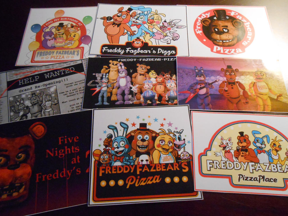 Five Nights At Freddy's Birthday Party  9 Five Nights At Freddy s inspired Stickers Birthday