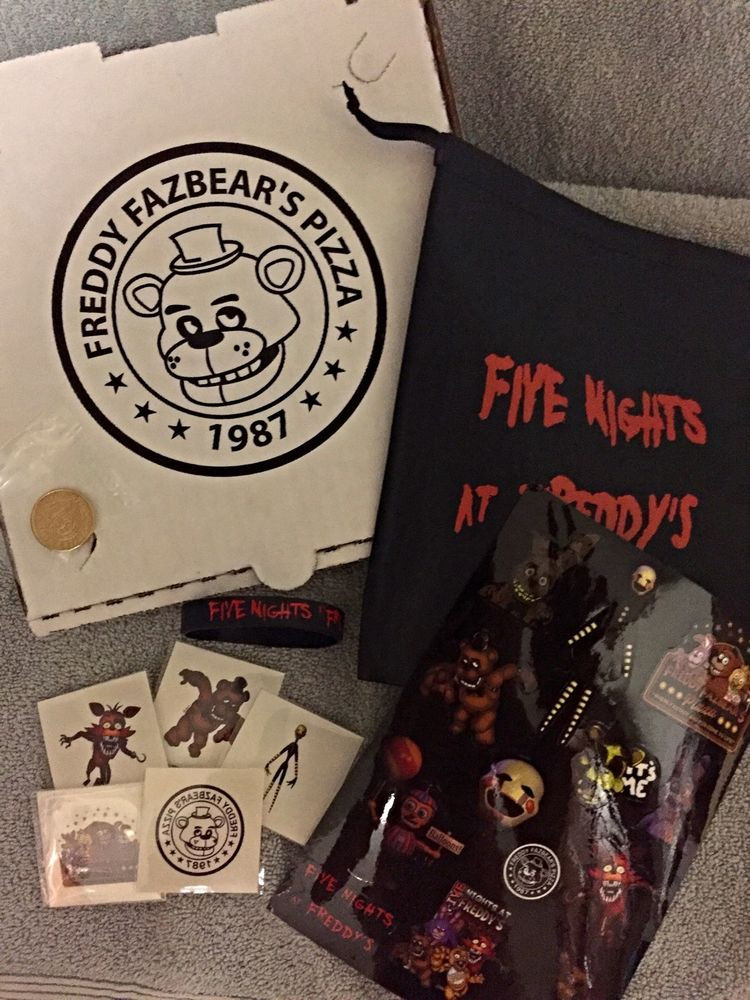 Five Nights At Freddy's Birthday Party  10 FIVE NIGHTS AT FREDDY S FNAF BIRTHDAY PARTY FAVOR PACK