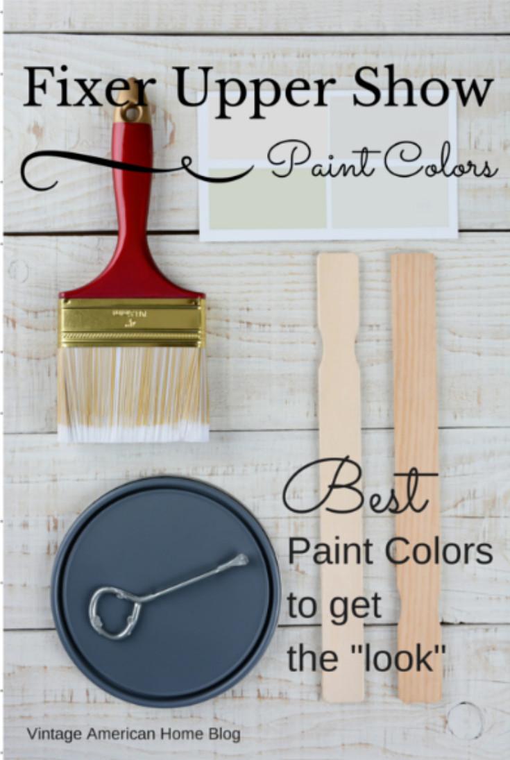 Best ideas about Fixer Upper Paint Colors . Save or Pin 25 bästa Fixer upper paint colors idéerna på Pinterest Now.
