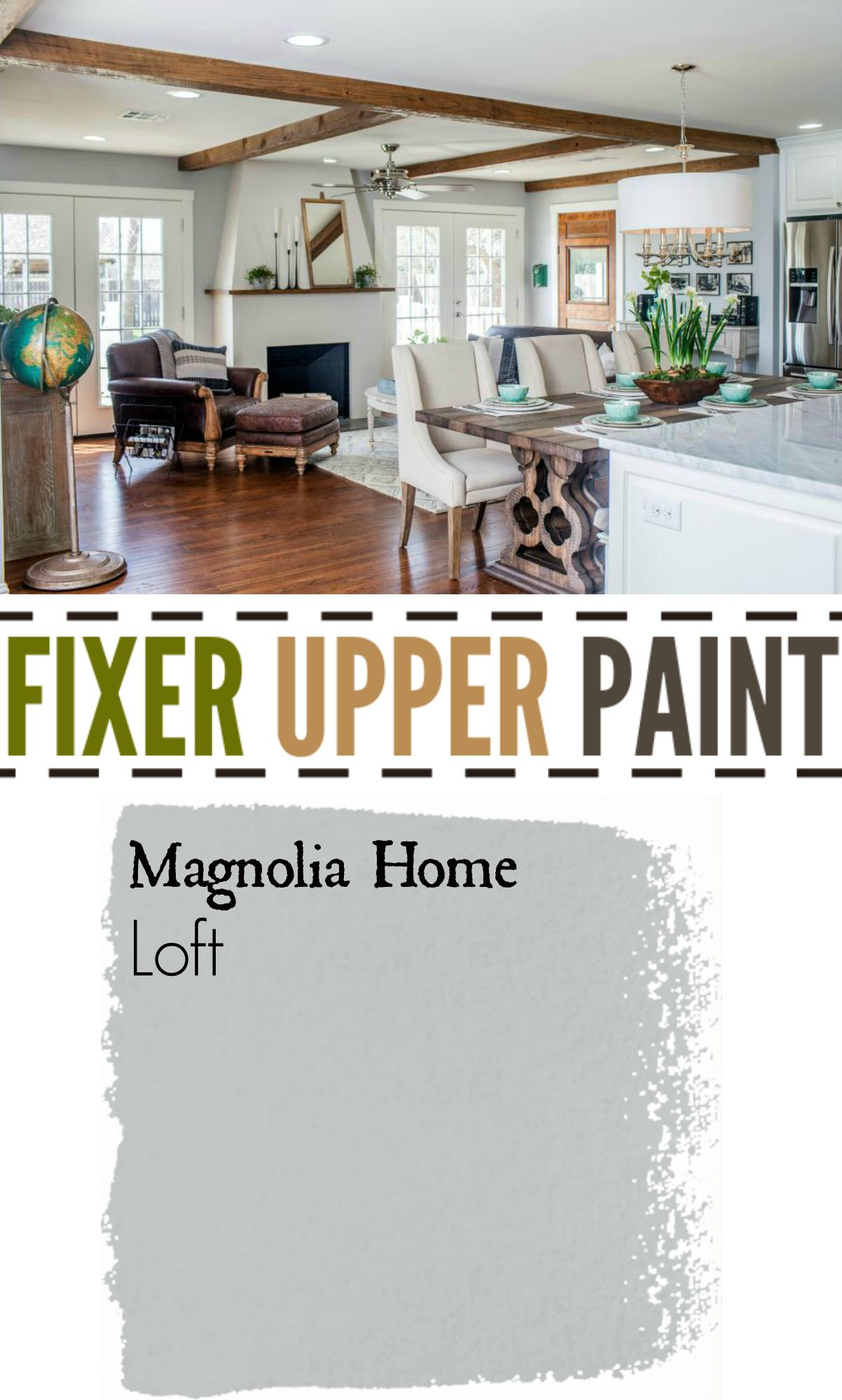 Best ideas about Fixer Upper Paint Colors . Save or Pin Fixer Upper Season Four Paint Now.