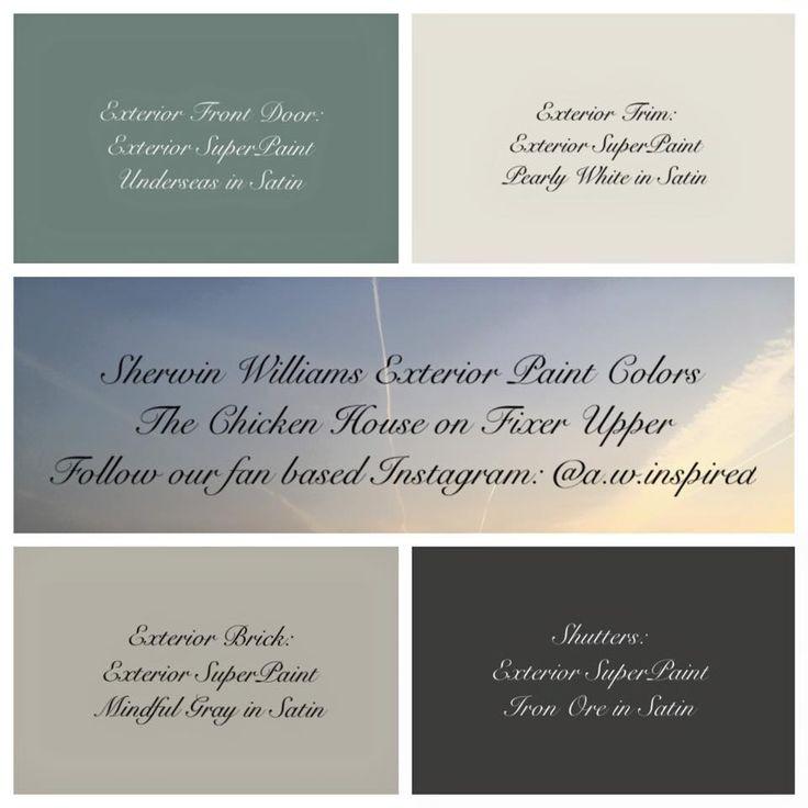 Best ideas about Fixer Upper Paint Colors . Save or Pin En iyi 17 görüntü FixerUpper Paint Colors Pinterest te Now.