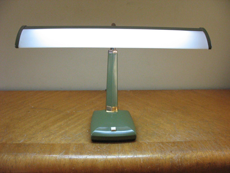 Best ideas about Florescent Desk Lamps . Save or Pin Avocado Green Fluorescent 70 s Retro Desk Lamp Now.