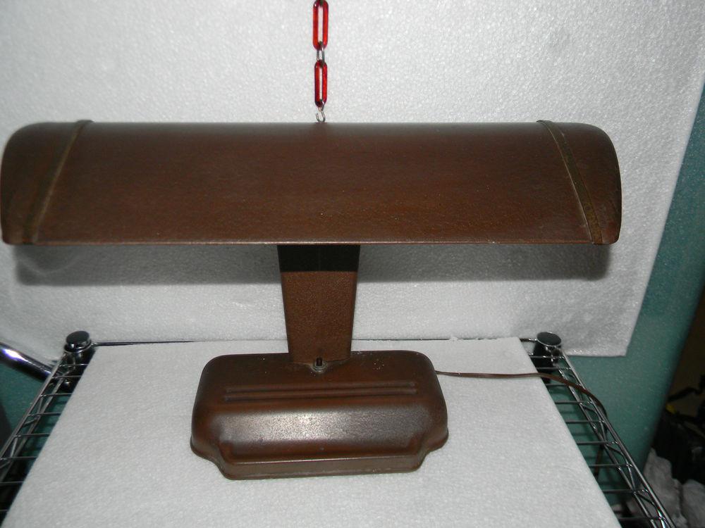 Best ideas about Florescent Desk Lamps . Save or Pin VINTAGE Fluorescent Light Desk Lamp Machine Age Light Now.