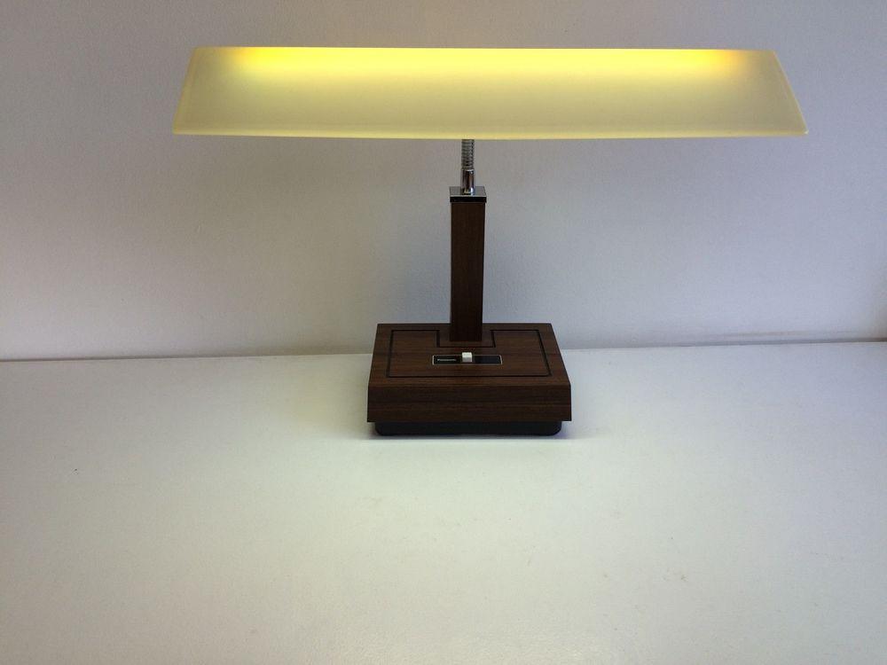 Best ideas about Florescent Desk Lamps . Save or Pin Vintage Panasonic Fluorescent Table Desk Lamp Now.