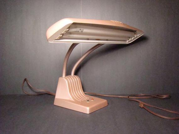 Best ideas about Florescent Desk Lamps . Save or Pin Vintage desk lamp Dazor Model 1000 fluorescent desk lamp Now.