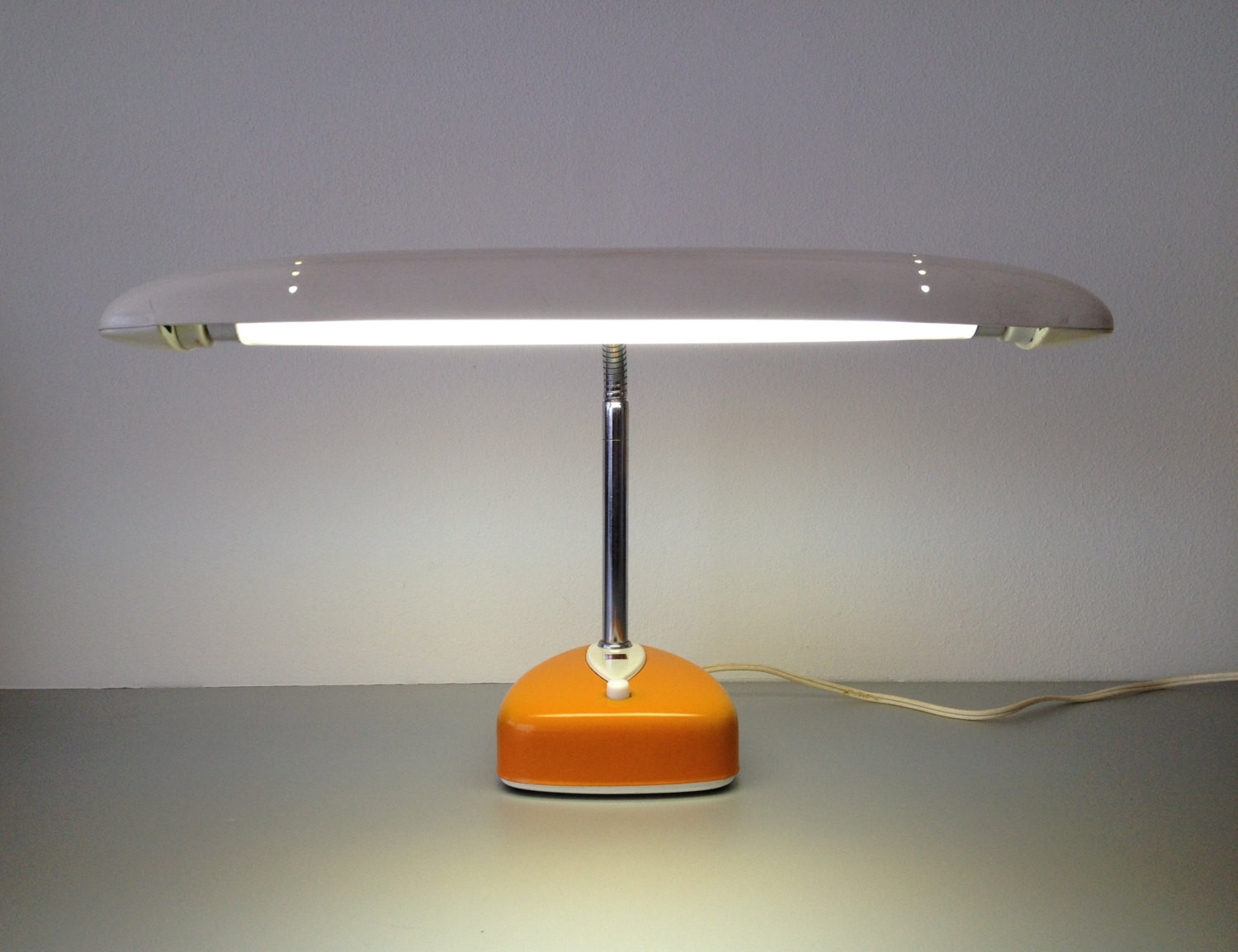 Best ideas about Florescent Desk Lamps . Save or Pin vintage desk lamp National Fluorescent Lamp stand Model Now.