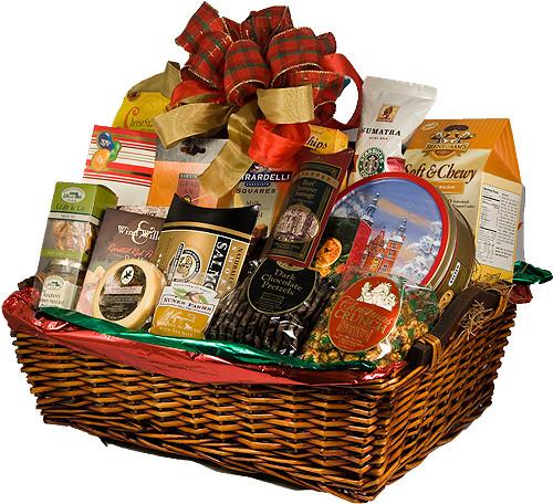 Food Gift Basket Ideas  Holiday Baskets Ideas