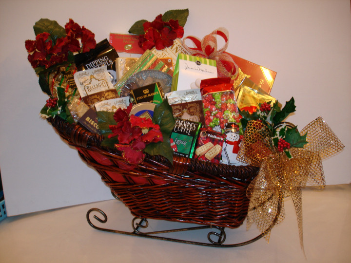 Food Gift Basket Ideas  Christmas Food Gift Baskets Ideas – Site Title