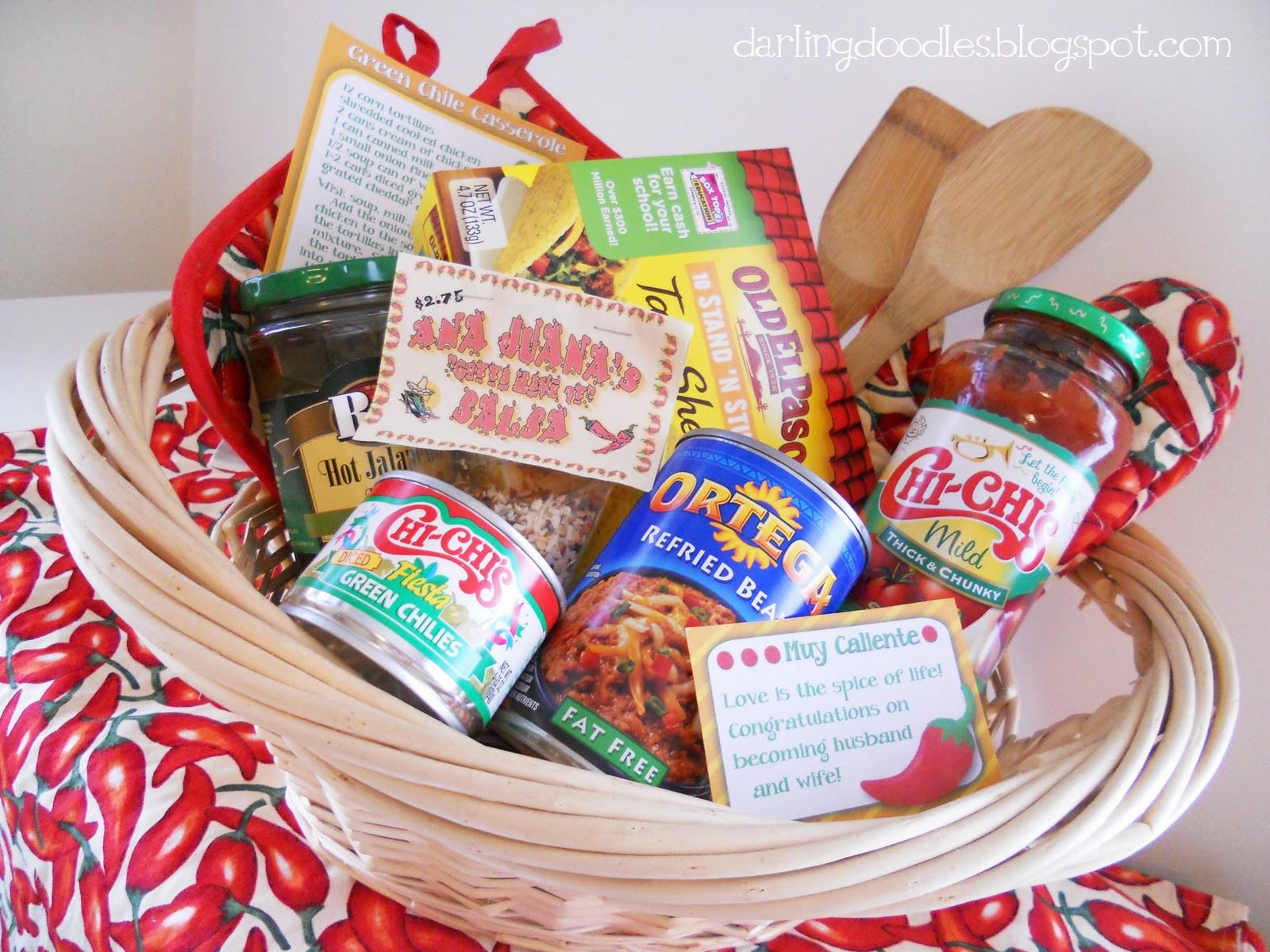Food Gift Basket Ideas  ¡Está delicioso Darling Doodles