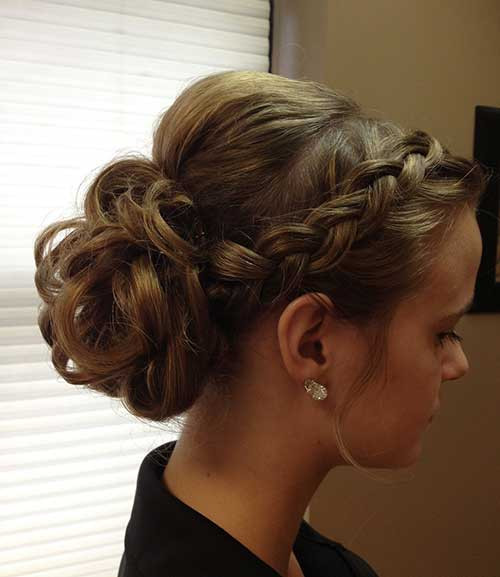 Formal Updos Hairstyles  40 New Updo Hairstyles for Prom Long Hairstyles 2016 2017