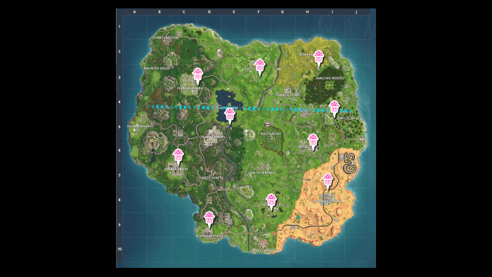 Best ideas about Fortnite Birthday Cake Map . Save or Pin Fortnite Battle Royale e Year Anniversary Challenge Now.