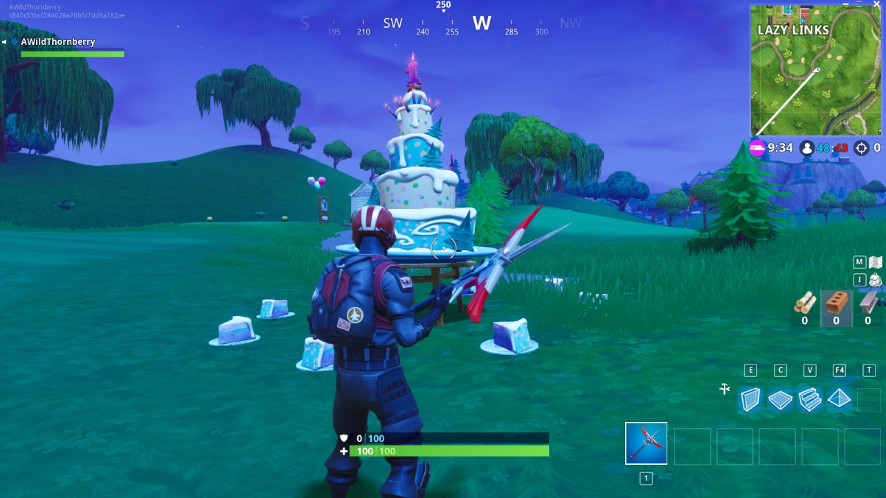 Best ideas about Fortnite Birthday Cake Map . Save or Pin Fortnite All Birthday Cake locations Dance in front of Now.