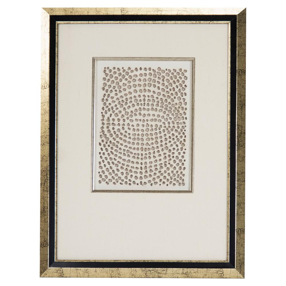 Best ideas about Framed Wall Art . Save or Pin Modern Gold Abstract Paper Framed Wall Art III Now.