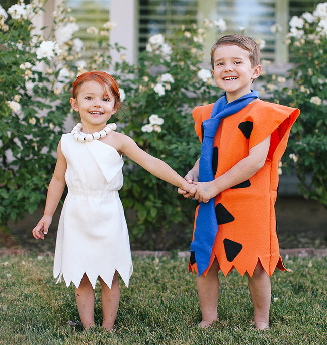 Fred And Wilma Costumes DIY  Fred And Wilma Flintstone Costume DIY