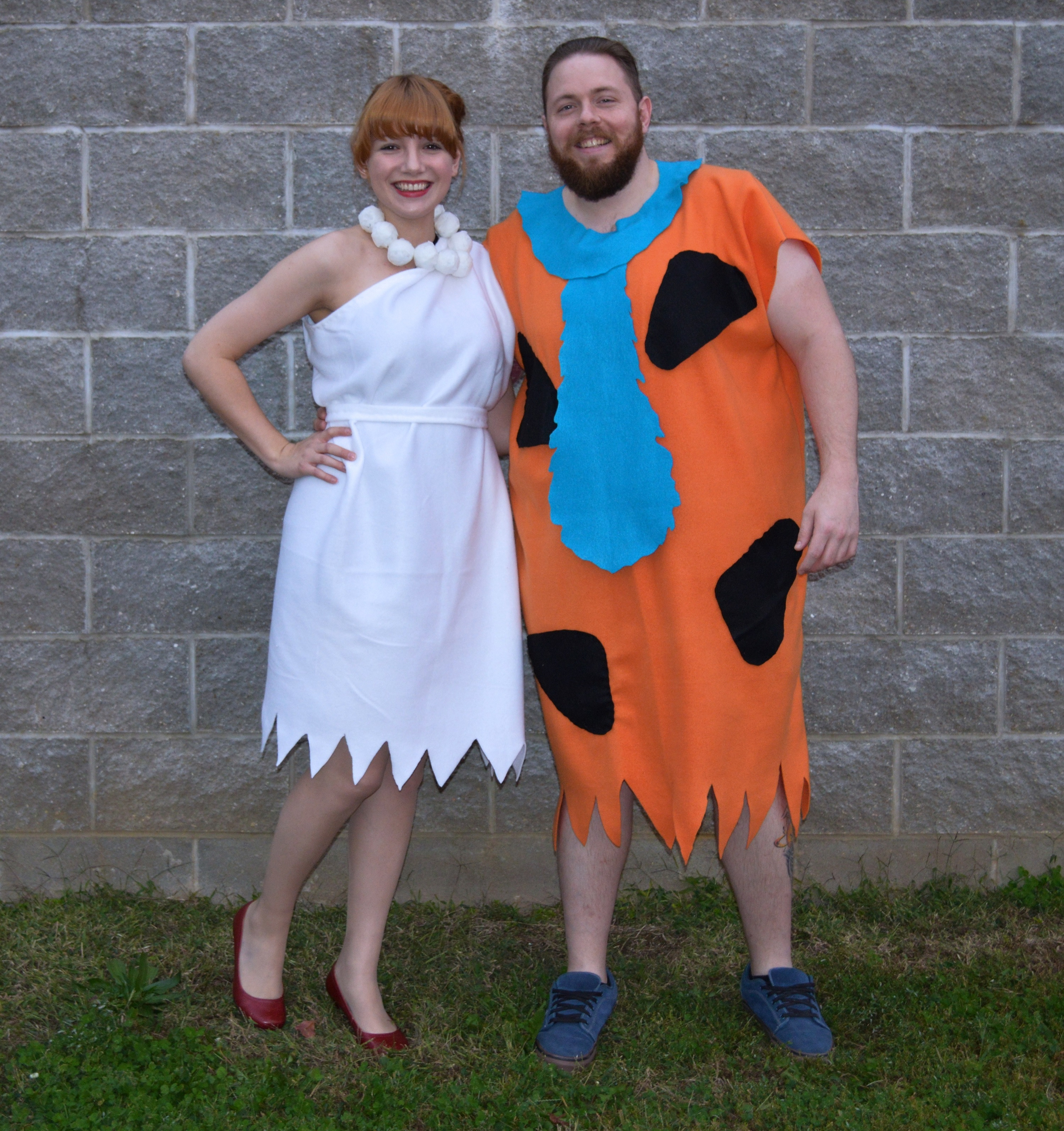 Fred And Wilma Costumes DIY  Yabba dabba BOO – Oh Julia Ann