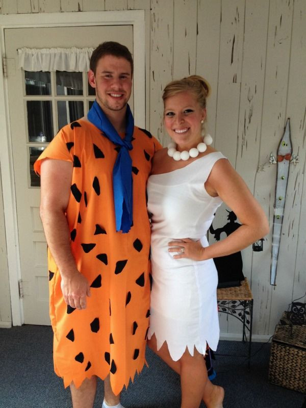 Fred And Wilma Costumes DIY  25 best ideas about Flintstones costume on Pinterest
