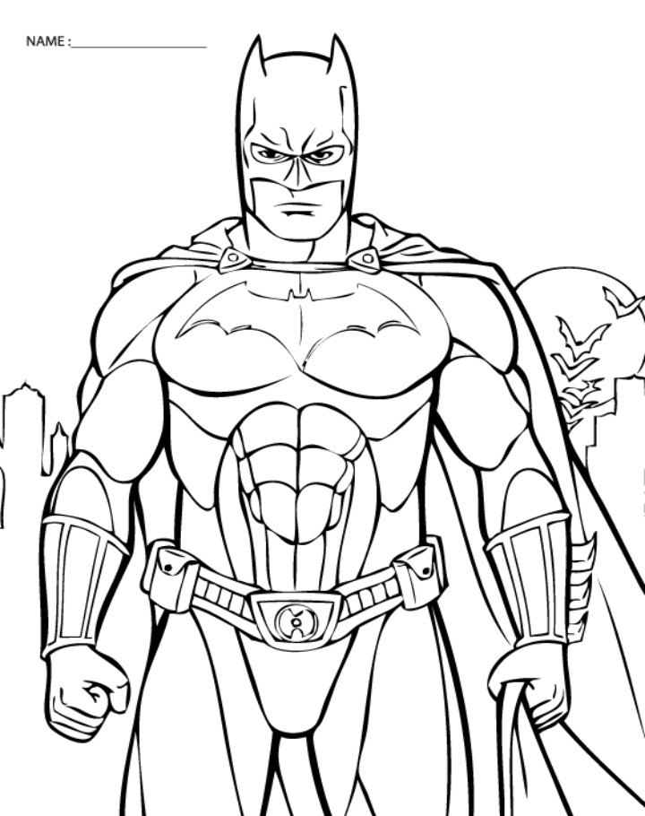 Best ideas about Free Batman Printable Coloring Pages . Save or Pin Batman Color Pages AZ Coloring Pages Now.